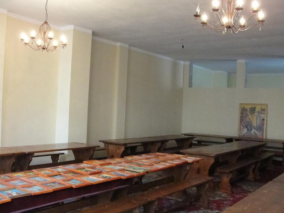 interior casa socială